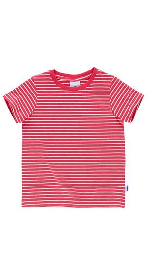 Finkid Supi Shortsleeve Shirt Kids cherry/offwhite